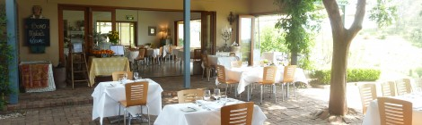 Dining with a View - Bistro Molines, Hunter Valley