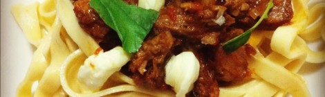 Recipe - Lamb Ragu