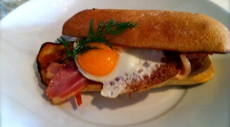 Our Favourite Bacon & Egg Rolls